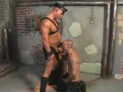 Big man gets ass fisted after being fucked by huge hard cock