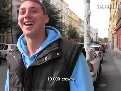 CZECH HUNTER 57. Czech boys suck off cock.