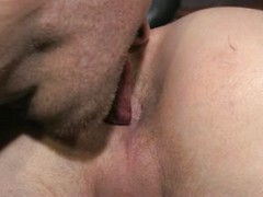 Stud\'s ass gets cleaned & fucked