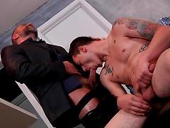 Stepfather's Secret - DMH - Drill My Hole - Dirk Caber & Trevor Spade