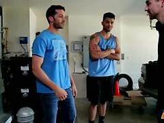Rocco Russo, Silas O'Hara and Johnny Torque in Broken Down Wheels