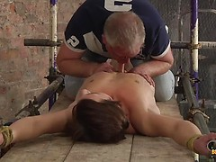 Twink Stretched And Stroked! - Casper Ellis And Sebastian Kane