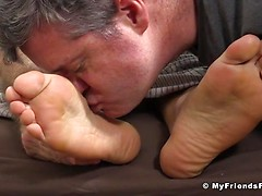 Silas'Socks and Feet Worshiped While He Sleeps - Silas