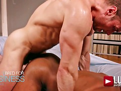 Sean Xavier And Stas Landon Flip-fuck In Suits