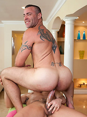 Getting fucked by this young hot stud by Rub Him image #7