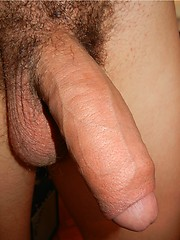 Horny latino boy jacking off his uncut dick by Miami Boyz image #6
