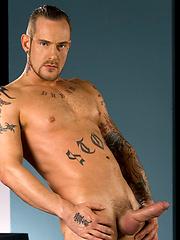 Nick Piston shws his boner by Hot House Backroom image #6