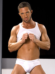 Muscle hunk shows cock and sexy ass by Hot House Backroom image #5