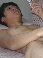 One of the cutest Japanese boys around plays with his dick for you by Japan Boyz image #6