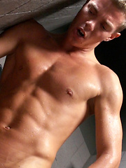 Prisoner gets the command to suck the soldier before a rough fuck starts. by Gay WarGames image #10