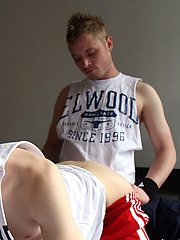 Hot Aussie boys Ryan and Simon\\\\\\\'s first hook by Bentley Race image #5