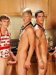 Adam Wirthmore, Alex Waters, Noah Brooks and Jay Kohl foursome by Next Door Twink image #4
