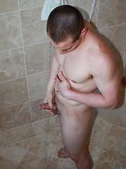 Dylan McLovin strokes his cock by Nextdoor Male image #4