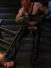 Ricky Sinz turns Jason Miller into a bondage beast of burden. by Bound Gods image #11