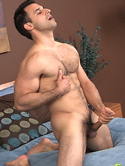 Omar strokes his cock by ChaosMen image #8