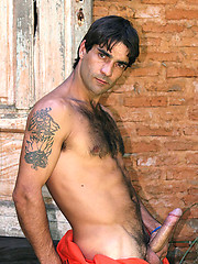Miguel Torres posing naked outdoors by Brazilian Studz image #8