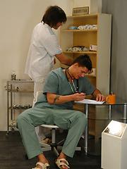 Yuri, Rado and Mirek - midical examination by William Higgins image #9