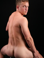 Lansing jerking off his dick by ChaosMen image #4