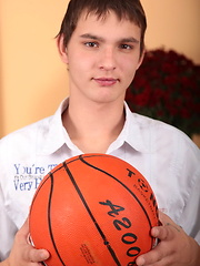 Cute twink playing with balls by Czech Boys image #4