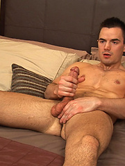 Hot american stud Tony jerking off dick by SeanCody image #7