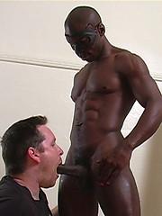 Big muscled black man Lantis by Maskurbate image #8