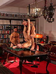 Conner Habib, David Castan and Nicolas Torri - Poke \\\\\\\'is face by UKNakedmen image #5