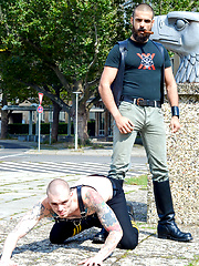 Leather Big Wolf vs Axl Black by Cazzo Club image #11