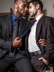 Andre Donovan Makes Ty Mitchell His Bitch by Lucas Entetainment image #13
