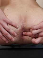 College boy Chad Jomstone stroking his thick cock. by BF Collection image #5