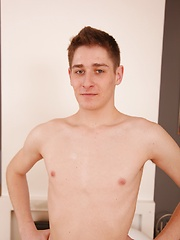 Marc Sense spreads his ass and strokes his cock. by BF Collection image #6