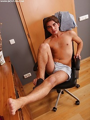 Jared Colemen sends a load of cum from his uncut cock. by BF Collection image #7