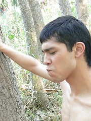Erick Salvatore and Matias fucking raw in the forest. by BF Collection image #10