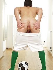 Steve Hard masturbates his remaining energy after playing soccer. by BF Collection image #5