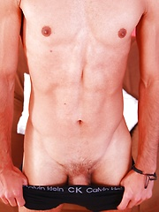 Joseph Sydney spews a load of cum on his abs. by BF Collection image #7