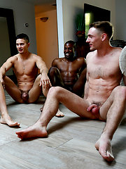 HOT Gay Orgy: Collin Simpson with Tyler, Alex, Forrest and Zach by Gayhoopla image #12