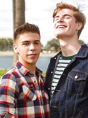 Landon Vega and Travis Berkley by Helix Studios image #12