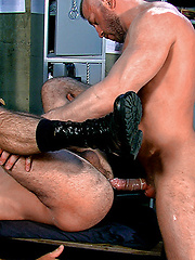 Bad Cop: Scene 3: Hunter Marx & Damien Stone by TitanMen image #13