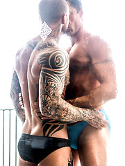 Dylan James Fucks Muscle Daddy Nick Capra by Lucas Entetainment image #15