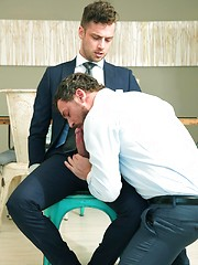 Making It Big : The Roommate. Starring Damon Heart & Logan Moore by Men at Play image #9