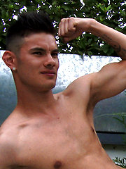 Young Straight Lean Swimmer Tim Shows His Fantastic Uncut Cock! by English Lads image #8