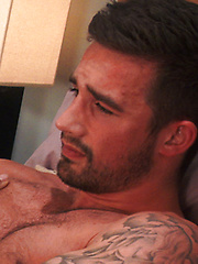 Straight Athletic Footballer Lucas Strips and has a Seriously Intense Orgasm! by English Lads image #7