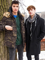 Jared Shaw and Johannes Lars fuck bareback after a cold walk in the city. by BF Collection image #9