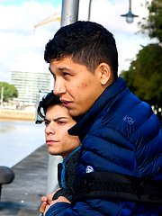 Latino boys Dylan Done and Jonas Bautista fuck after a date in the city. by BF Collection image #8