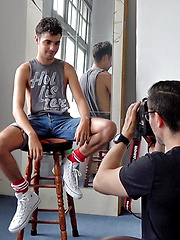 My new cute French mate Brock Matthews joins us naked by Bentley Race image #6