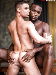 Klim Gromov Rides Andre Donovan's Bare Black Cock by Lucas Entetainment image #8
