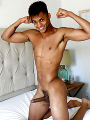 Tall Athletic Jock Ian Borne Jerks Big Cock by Gayhoopla image #7