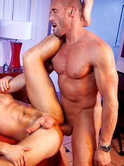 Beach Rats. Hot cock hungry stud gets his ass nailed by muscled daddy. by Falcon Studios image #3