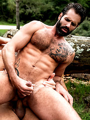 James Castle, Apolo Fire, And Dani Robles' Raw Forest Fuck by Lucas Entetainment image #11