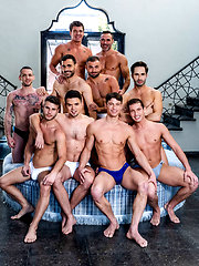 Join The Sweaty All-star Orgy (Part 01) by Lucas Entetainment image #11