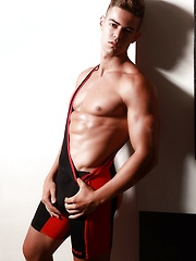 sportive stripping by Male Model image #6